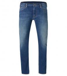 Armani Jeans Dark Blue Regular Fit Jeans