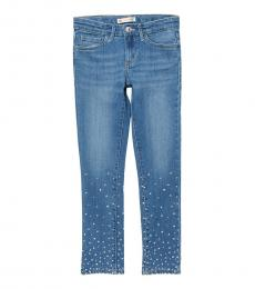 7 For All Mankind Boy Blue Slim Fit Jeans