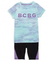 BCBGirls 2 Piece T-Shirt/Shorts Set (Little Girls)