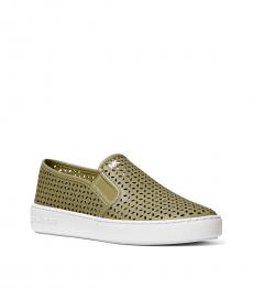 Michael Kors Oregano Olivia Slip-On Sneakers