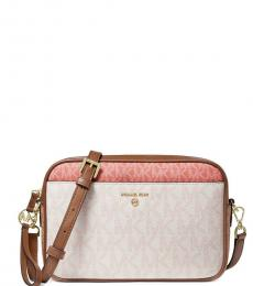 Michael Kors Vanilla Jet Set Charm Medium Crossbody