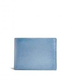 Coach Chambray Slim Billfold Wallet