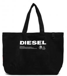 Diesel Black D-Thisbag Large Tote