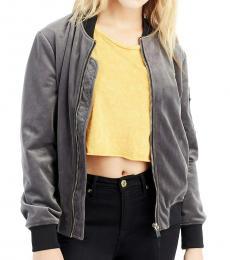 Grey Bomber Stylish Jacket