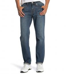 True Religion Blue Geno Slim Fit Jeanss