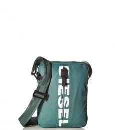 Diesel Blue F-Bold Medium Crossbody Bag