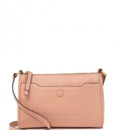 Marc Jacobs Ballet Empire City Top-Zip Small Crossbody