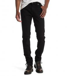 True Religion Black Solid Skinny Jeanss