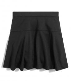 J.Crew Girls Black Uniform Ponte Skirt