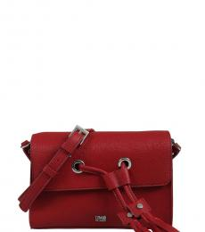 Red Tassel Small Crossbody