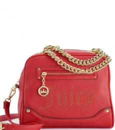 Juicy Couture Chili Red Desert Lights Small Satchel
