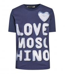 Blue Bubble Logo T-Shirt