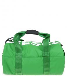 Diesel Light Green F-Bold Large Duffle Bag