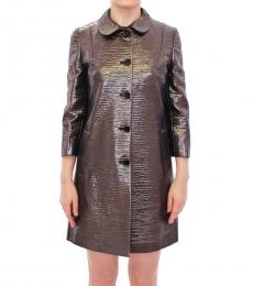 Dolce & Gabbana Metal Trench Coat
