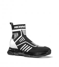 Michael Kors Black White Kendra Sneakers