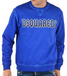 Dsquared2 Royal Blue Cool Fit Sweatshirt