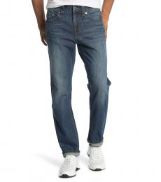 True Religion Blue Rocco Slim Fit Skinny Jeanss