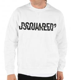 Dsquared2 White Cool Fit Sweatshirt