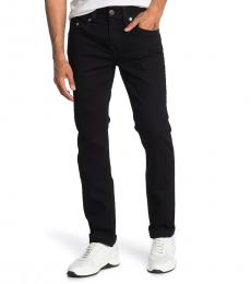 True Religion Black Rocco Slim Fit Skinny Jeanss