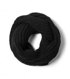 Michael Kors Black Infinity Chunky Scarf