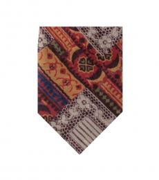 Dolce & Gabbana Multi Color Well Tailored Tie