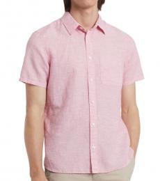 Calvin Klein Poinsetta Classic Short-Sleeve Shirt