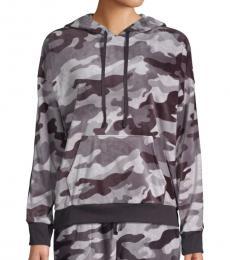 DKNY Grey Camouflage Hoodie