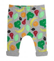Stella McCartney Baby Girls Grey Fruit Joggers