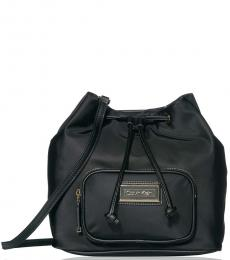 Black Belfast Small Bucket Bag