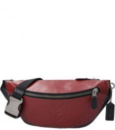 Coach Currant Crescent Fanny Waist Bag