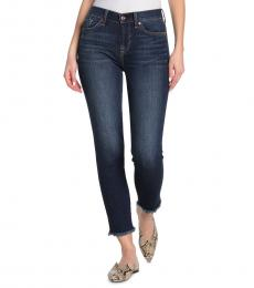 Dark Blue Roxanne Ankle Skinny Jeans