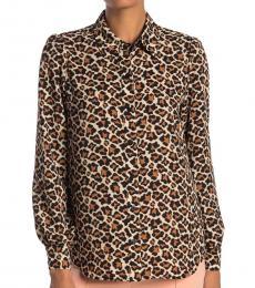 Leopard Print Mariah Shirt