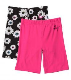 Betsey Johnson 2 Piece Bike Shorts Set (Girls)