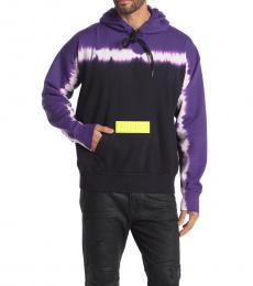 Dark Purple Alby Tie Dye Pullover