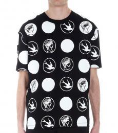 McQ Alexander McQueen Black Badge swallow t-shirt