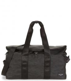 Cole Haan Black Ballistic Large Duffle Bag