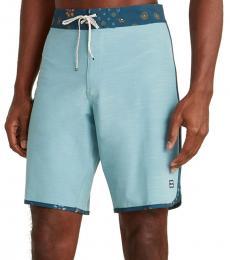 Sky Blue Pro Swim Shorts
