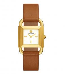 Tory Burch Luggage-Gold Phipps Watch