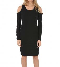 Diesel Black Sheath Dress