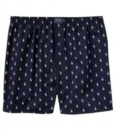 Navy Polo Player Boxers