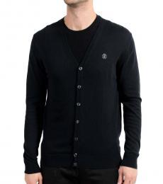 Navy Blue Cardigan Sweater