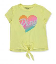 DKNY Girls Sunshine Heart Top