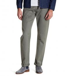 AG Adriano Goldschmied Olive Graduate Tailored Leg Pants