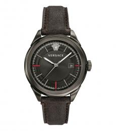 Brown Logo Dial Watch