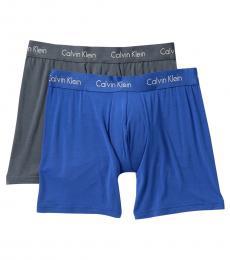 Calvin Klein Multicolor Modal Boxer Briefs - Pack of 2