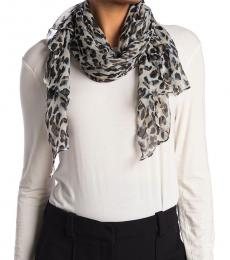 Vince Camuto Leopard Print Oversized Scarf