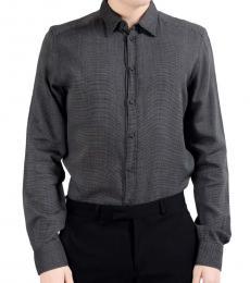 Dolce & Gabbana Grey Cotton Shirt