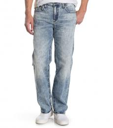 True Religion Light Blue Devin Big-T Jeans