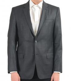 Versace Collection Grey Two Button Blazer