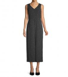 Karl Lagerfeld Black Polka Dot Wide-Leg Jumpsuit